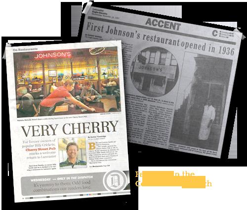 Cherry Street Pub History