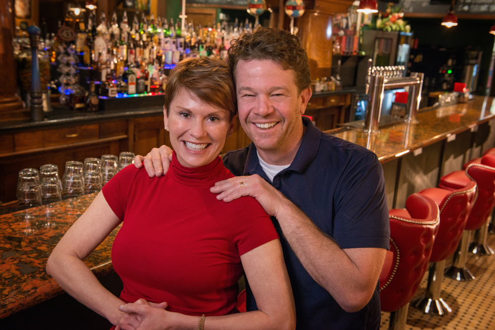 Cherry Street Pub Owners Billy and Lorena Smith